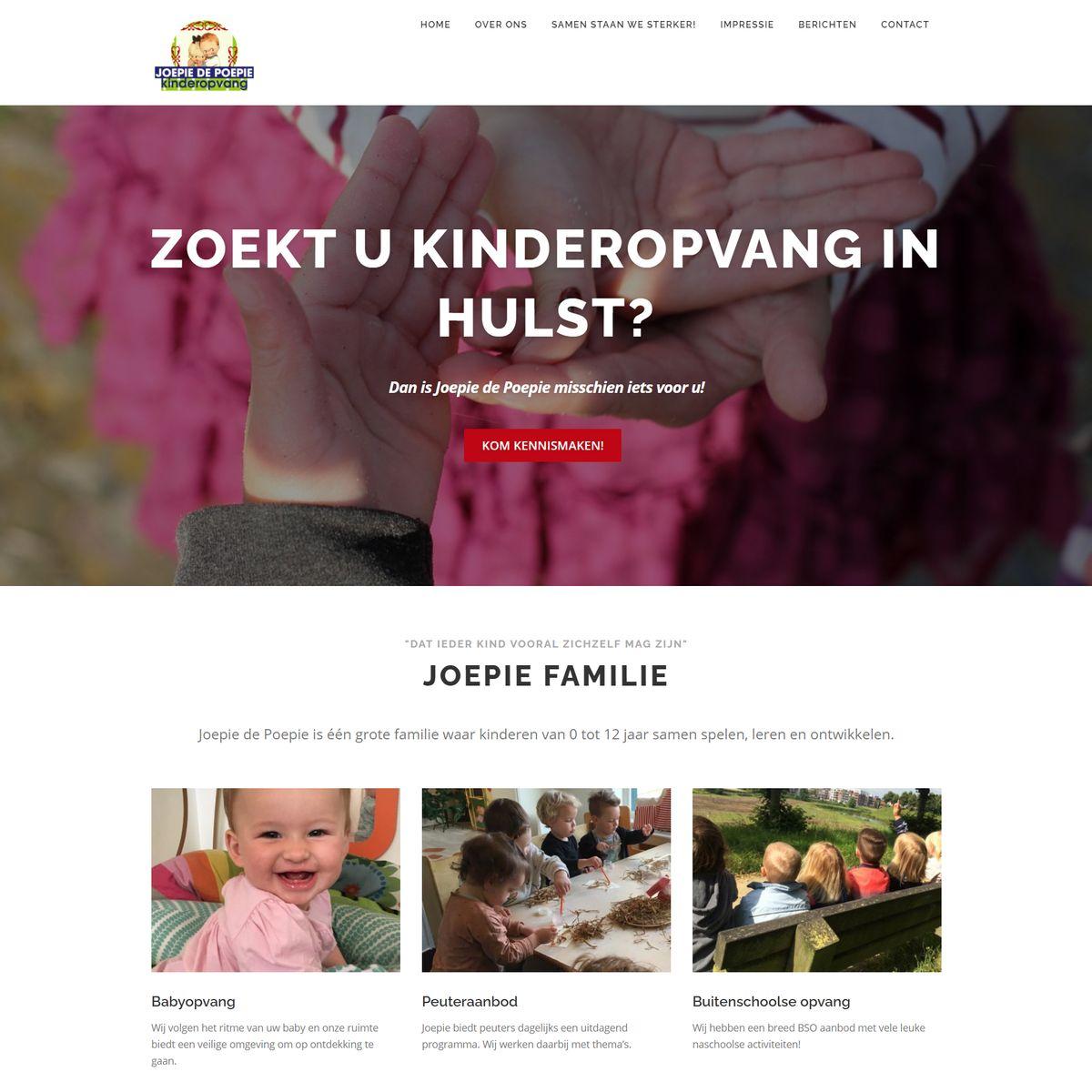 website kinderopvang