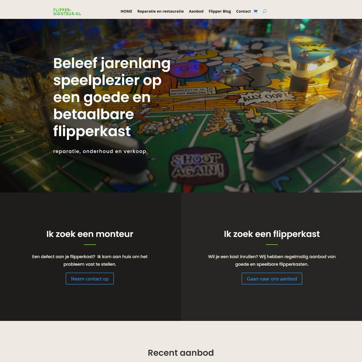 website flipper-monteur